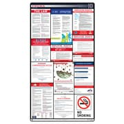ComplianceSigns® 2018 Virginia Labor Law Poster (with Blue Header)