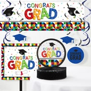 Creative Converting Fractal Fun Graduation Decorations Kit (DTC2030E1A)