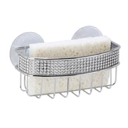 Kitchen Details Sponge Holder, Pave Design (22906-CHR)
