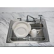 Kitchen Details Over the Sink Dish Rack, Grey (24128-GREY)