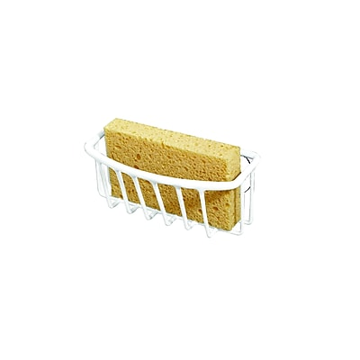 Kitchen Details Sponge Holder, White (4190-WHT)