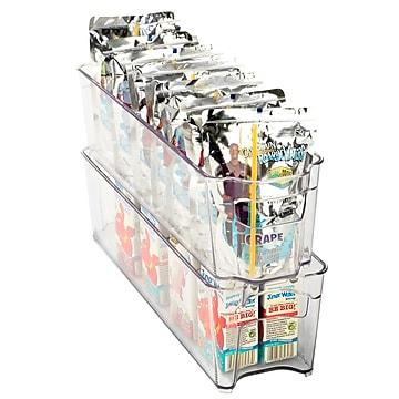 Kitchen Details Refrigerator Shelf Organizer, Slim (28513)