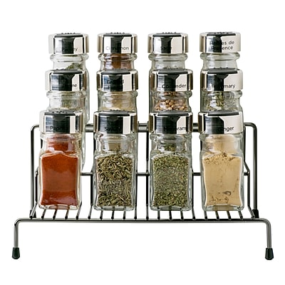 Kitchen Details 3 Tier Spice Rack Shelf