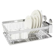 Kitchen Details Drying Rack with Tray, Pave Diamond Design (22900-CHR)