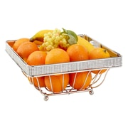Kitchen Details Fruit Basket, Pave Diamond Design (22909-CHR)