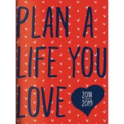 "TF Publishing July 2018-June 2019 Plan The Life You Love Monthly Planner, 7.5"" X 10.25"" (19-4040A)"