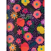 """TF PUBLISHING JULY 2018-JUNE 2019 BLOOMING MONTHLY PLANNER 7.5"""" X 10.25"""" (19-4205A)"""