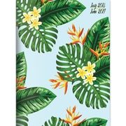 """TF PUBLISHING JULY 2018-JUNE 2019 LEAVES MONTHLY PLANNER 7.5"""" X 10.25"""" (19-4220A)"""