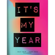 "TF Publishing July 2018-June 2019 It's My Year Monthly Planner, 7.5"" X 10.25"" (19-4234A)"