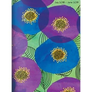 """TF PUBLISHING JULY 2018-JUNE 2019 POPPIES MONTHLY PLANNER 7.5"""" X 10.25"""" (19-4243A)"""