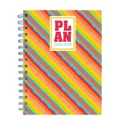 """TF PUBLISHING JULY 2018-JUNE 2019 PLAN ME MEDIUM WEEKLY MONTHLY PLANNER 6.5"""" X 8"""" (19-9101A)"""