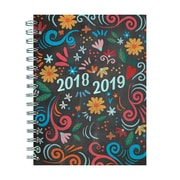 "TF PUBLISHING JULY 2018-JUNE 2019 CHALK MEDIUM WEEKLY MONTHLY PLANNER 6.5"" X 8"" (19-9152A)"