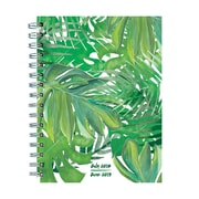 "TF Publishing July 2018-June 2019 Leaves Medium Weekly Monthly Planner, 6.5"" X 8"" (19-9220A)"