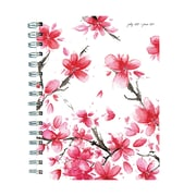 "TF Publishing July 2018-June 2019 Cherry Blossoms Medium Weekly Monthly Planner, 6.5"" X 8"" (19-9225A)"
