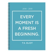 """TF PUBLISHING JULY 2018-JUNE 2019 EVERY MOMENT LARGE WEEKLY MONTHLY PLANNER 9"""" X 11"""" (19-9583A)"""