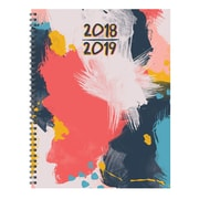 "TF PUBLISHING JULY 2018-JUNE 2019 ABSTRACT LARGE WEEKLY MONTHLY PLANNER 9"" X 11"" (19-9715A)"