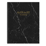 """TF PUBLISHING JULY 2018-JUNE 2019 MARBLE LARGE WEEKLY MONTHLY PLANNER 9"""" X 11"""" (19-9741A)"""