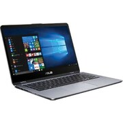 "ASUS VivoBook Flip 14 TP410UA-DS71T 14"" 2-in-1 Notebook, Intel Core i7, 1TB HDD, 8GB RAM, Windows 10 Home, Intel UHD 620"