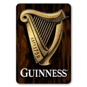 Guinness Harp Decorative Sign with 3-D Elements (645619067626)