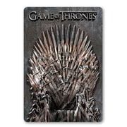 Game of Thrones Throne Decorative Sign with 3-D Elements (645619117666)