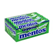 Mentos Chewy Mint Spearmint, 1.32 oz, Pack of 15 (209-02588)