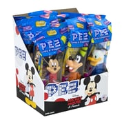PEZ Candy & Dispenser, 0.58 Oz., 12/Pack (209-02610)