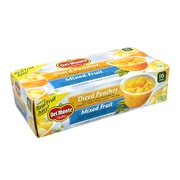 DEL Monte Diced Peaches & Mixed Fruit Cups, 4 oz, 16 Count (220-00744)