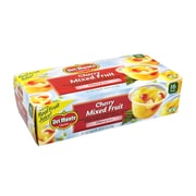 Del Monte Cherry Mixed Fruit Cups, 4 oz, 16 Count (220-00745)