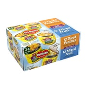 Del Monte 50 Calorie Lite Fruit Variety Cup Cans, 4 oz., 24/Pack (220-00748)