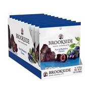 Brookeside Dark Chocolate Acai and Blueberry Flavors, 3 oz, Pack of 10 (246-00332)