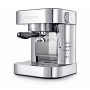 "Espressione Stainless Steel Series EM-1020 ""Espresso"" 19 Bar Pump E.S.E. Pod and Ground Coffee, Silver"