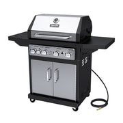 Dyna-Glo 4-Burner Stainless Natural Gas Grill, Stainless (DGA480SSN-D)