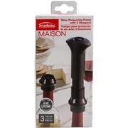 Trudeau Maison Wine Preserving Pump W/2 Stoppers-Black (579009)