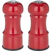 "Trudeau Maison 4.5""H Salt & Pepper Set, Red (714097)"