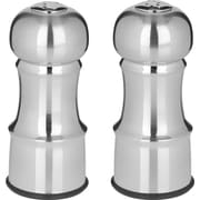 "Trudeau Maison Stainless Steel Salt & Pepper Set 4.5""-Silver - Empty (714096)"
