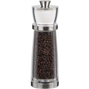 "Trudeau Maison Juliana Pepper Mill & Salt Shaker Combo 7"",Stainless Steel & Clear (716181)"