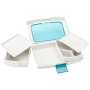 "Trudeau Maison Food To Go Bento Box 10""X6""X2.5""-Blue (31408329)"