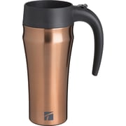 Trudeau Maison Stainless Steel Journey Travel Mug 16oz-Copper (4715406)