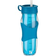 Trudeau Maison Cool Off Water Bottle 24oz-Blue (871136)