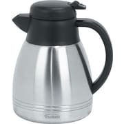 Trudeau Maison Lyra Stainless Steel Vacuum Carafe 34oz-Silver (88224)