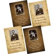 Barker Creek Presidential Posters, 4/Set (BC3541)