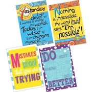 Barker Creek I'm Possible, I'm Wise & Keep Trying Posters, 4/Set (BC3605)
