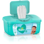 Pampers Baby Wipes, Complete Clean Scented, Tub, 72 Count