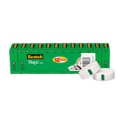 "Scotch® Magic™ Tape Value Packs, 3/4"" x 27.7 yds., 12 Rolls (810K12)"