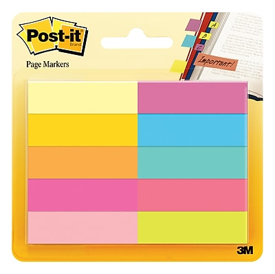 Post-it® Page Markers, 1.5