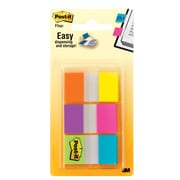 "Post-it® Flags, .94"" Wide, Alternating Electric Glow Collection, 60 Flags/Pack (680-EG-ALT)"
