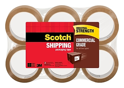 Scotch® Commercial Grade Packing Tape, 2