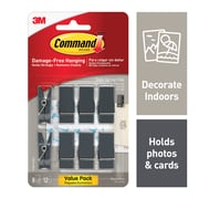 """3M Command™ Slate Spring Clip, Small, 3/4"""" Width"""