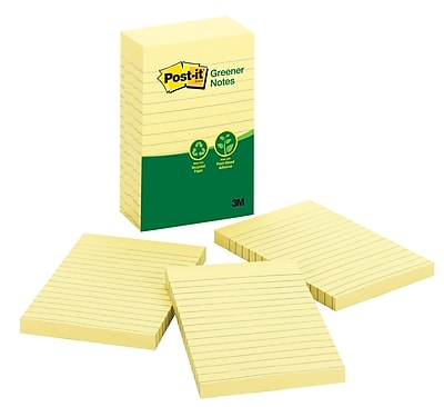 Post-it® Greener Notes, 4