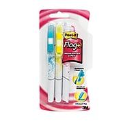 Post-it® Flag + Highlighter & Pen, 150 Flags/Pack, 3 Highlighter Pens/Pack (691-HLP3-BLK)